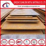 Chapa de desgaste médio e laminado a quente de alta resistência à tração / chapa de aço resistente ao desgaste