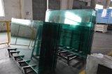 o vidro Tempered de vidro de segurança do vidro temperado de 3-12mm com cantos cortados lustrou bordas seguras