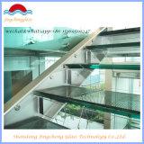 Prix clair m2 en verre Tempered avec du ce, ccc, ISO9001