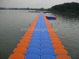 Muelle del barco de China y diques flotantes