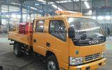 Dongfeng 4*2の二重タクシーは高度の働くトラックを切る