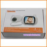 3.5 monitor sin hilos del bebé del LCD Digitaces de la pulgada con el jugador de música y la detección de la temperatura