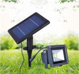 Lumière d'inondation solaire rechargeable portative extérieure imperméable à l'eau d'IP65 20W DEL