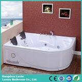 La doppia vasca da bagno poco costosa di massaggio della persona con RoHS ha approvato (TLP-631)