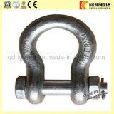 安全低下は鋼鉄ねじPin持ち上がるチェーンDの手錠の工場価格を造った