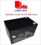 bateria recarregável alternativa do AGM 18V7ah para o sistema de seguimento solar