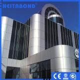 El panel compuesto de aluminio incombustible B1 con ASTM E84