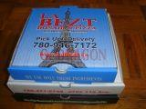 Sperrung Ecken-Pizza-Kasten für Stabilität und Haltbarkeit (PIZZ-0081)