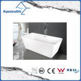 Vasca da bagno indipendente acrilica quadrata della stanza da bagno (AB1506W)