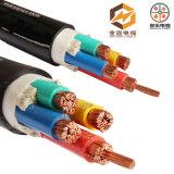 câble d'alimentation blindé de 4 faisceaux de câble de bloc d'alimentation de PVC de la SWA de 35mm 50mm 95mm 120mm 150mm 185mm 240mm XLPE