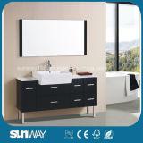 Module de salle de bains en bois du modèle 2015 chaud avec le miroir