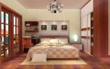 現代生きている寝室の家具のドアのワードローブ(zy-043)