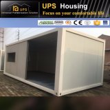 Casa modular do recipiente da fabricação do verde da prova da chuva para o escritório