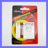 Alarme magnétique d'entrée de guichet de capteur d'alarme de trappe de systèmes de sécurité de Homelus mini (MC06-1)