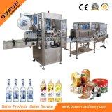 Máquina de rotulagem de garrafa controlada por PLC para PVC, etiquetas para animais de estimação