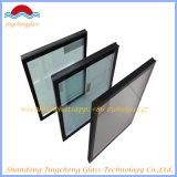 Parede de cortina de vidro isolada tecnologia curvada lisa/quente