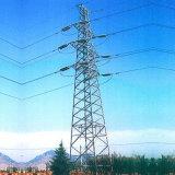 Linha de transmissão de aço torre do ângulo da produção
