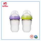 Bottiglie di alimentazione ultra larghe del bambino del silicone del collo 220ml