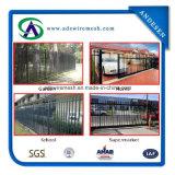 2400mm W* 1800mm Hの庭の塀の鉄の鋼鉄塀