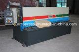 Machine de tonte hydraulique de tôle de série de QC12y-4*2500mm, prix hydraulique de machine de découpage avec E21s
