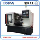 바퀴 수선 Awr28h를 위한 CNC 합금 바퀴 변죽 수선 기계 선반