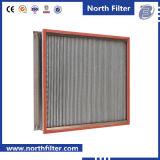 De aluminiumfolie diep-Geplooide Filter van de Doos van de Lucht HEPA