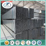 Revestimento galvanizado mergulhado quente da tubulação/zinco: 200g/Square tubulação de aço da seção da cavidade do ferro do medidor/soldado
