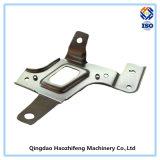 Изготовленный на заказ металлический лист высокого качества штемпелюя части с гальванизированной плитой