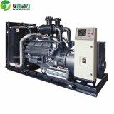 Chinese Diesel van het Type van Generator van de Waterstof van Shangchai 300kw Stille Generator