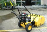 "31 ""Walk Behind Sweeper Auto-propulsionado Power Brush Broom Industrial Gas Engine"