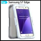 방수 내진성 먼지 증거 Samsung 은하 S7 가장자리를 위한 잡종 고무 케이스 덮개