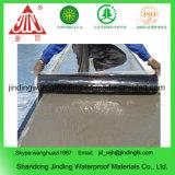 Rückseitig klebende Aluminiumfolie-Bitumen-Membrane
