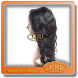 100% Inder Virgin Hair Full Lace Wigs mit Highquality