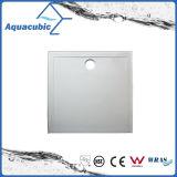 Base sanitaire de douche de salle de bains du grand dos 90X90 SMC de qualité d'articles avec la grille (ASMC9090-3)