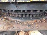 Excavador hidráulico usado original de la correa eslabonada de la oruga 349dl (maquinaria de mina japonesa)