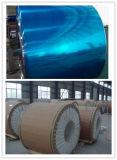 Алюминиевая катушка 3003 с голубой пленкой PVC