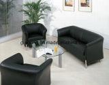 Sofà moderno dell'ufficio di riunione del metallo del cuoio della mobilia