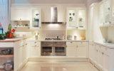 アメリカの台所家具の純木のかえでの食器棚(ZS-822)