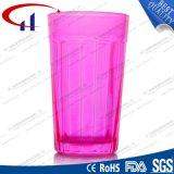 tazza di vetro rossa dell'acqua qualificata vendita calda 210ml (CHM8183)