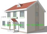 Villa prefabbricata della costruzione di disegno moderno
