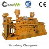 CE/ISO/BV Jichaiエンジンの電気生成の一定の性質のガスの発電機(600kw)