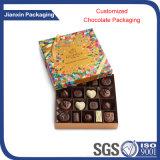 Plateau en plastique de nourriture de chocolat respectueux de l'environnement