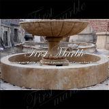 De marmeren Fontein Empador Zwarte Fontein mf-1048 van het Graniet van de Fontein van de Steen van de Fontein Verontruste