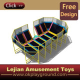 Highquality popolare Beds Trampoline con Foam Pit & CE Certificate