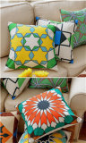 면 추상적인 베개 기하학적인 색깔 소파 형식 의자 다방 방석