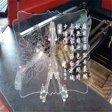 アクリル木のための小型レーザーの切断そして彫版機械