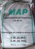 100٪ للذوبان في الماء الأسمدة مونو فوسفات الأمونيوم Map12-61-0