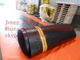 Твердый нефтяной бум пенистого каучука, нефтяные бумы PVC/загородки масла