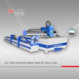 De Scherpe Machine van de Laser van de Vezel van de hoge Precisie voor het Blad van het Metaal en de Buis van de Pijp