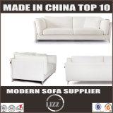 Moderne Hauptschnittmöbel-neues Entwurfs-Leder-Couch-Set